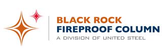 Black Rock Fireproof Column